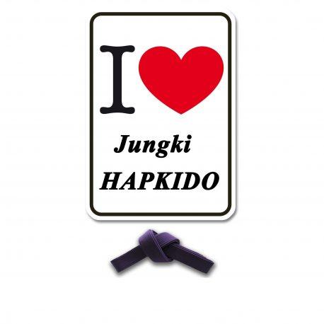 I Love Jungki Kwan paars