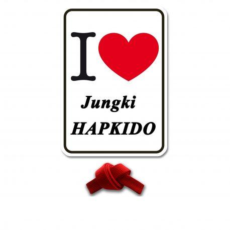 I Love Jungki Kwan rood